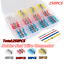 250PCS-Waterproof-Solder-Sleeve-Splice-Wire-Mix-Heat-Shrink-Butt-Connectors thumbnail 1