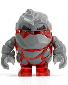 MINIFIGURE LEGO POWER MINERS ROCK MONSTER MELTROX pm003