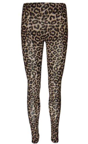 New Ladies Womens Full Length Animal Printed Snake Leopard Fashion Leggings