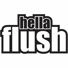 hella flush car sticker decal graphic vinyl jdm vdub