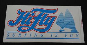 Fan-Aufkleber Hifly Surfing Is Fun Surfing Windsurfing 80er Surfmobil