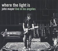 John Mayer Cd - Where The Light Is: Live In Los Angeles [2 Discs](2008) -
