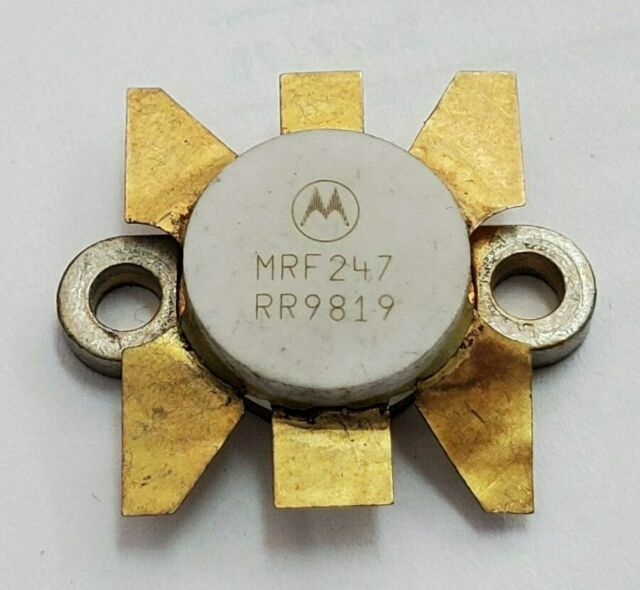 2 x Motorola M1570 MRF1570 RF Amplifier Power Transistor
