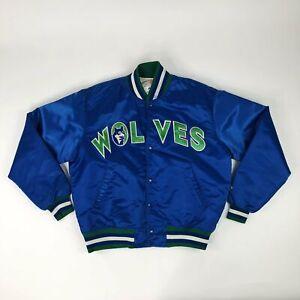 VTG-NBA-Minnesota-Timberwolves-Wolves-Starter-Satin-Jacket-Adult-Large