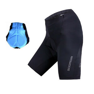 Image is loading SOBIKE-Mens-3D-Padded-Cycling-Shorts-Bicycle-Bike- b73408ca3