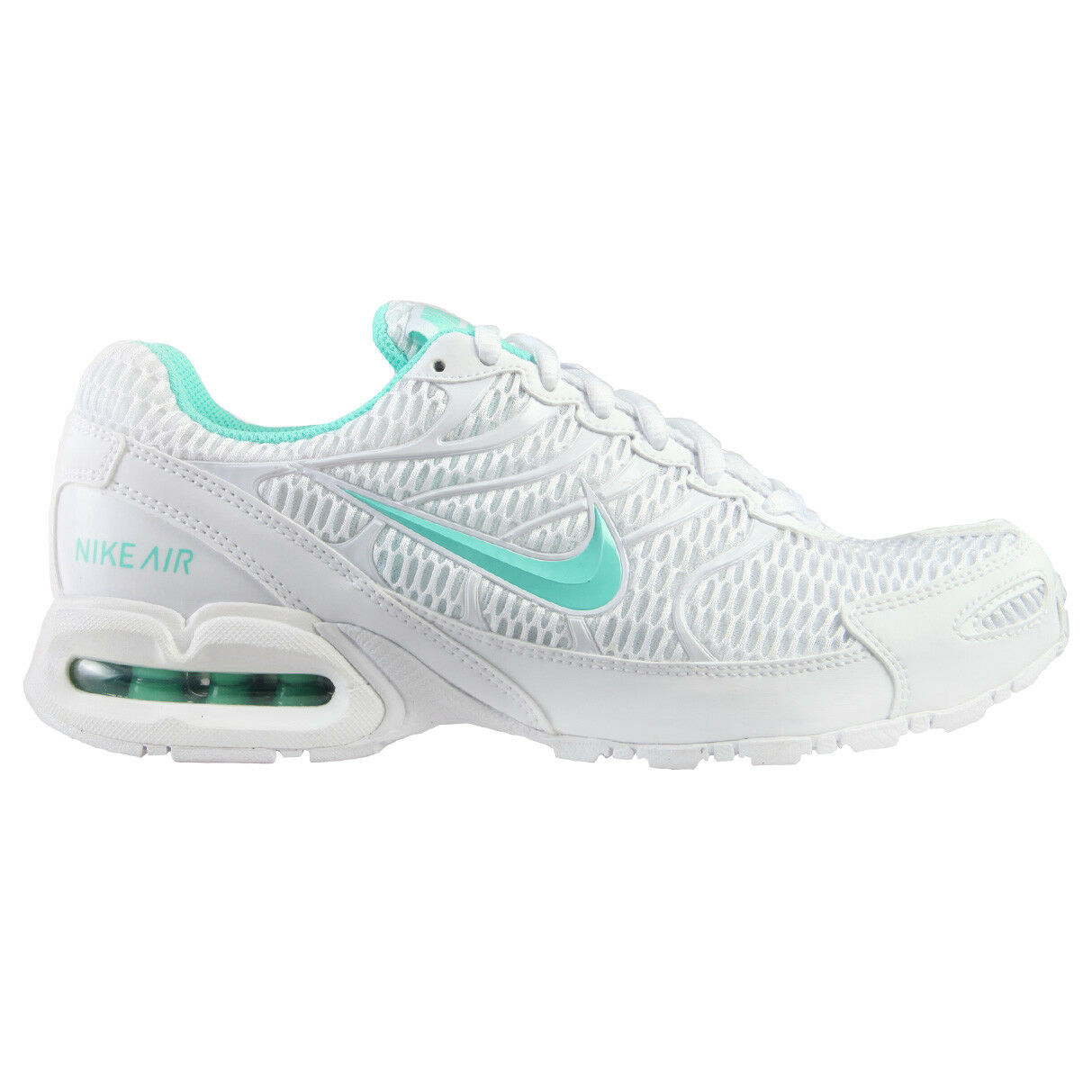 Nike Air Max Torch 4 Womens 343851-100 White Turquoise Running shoes Size 7