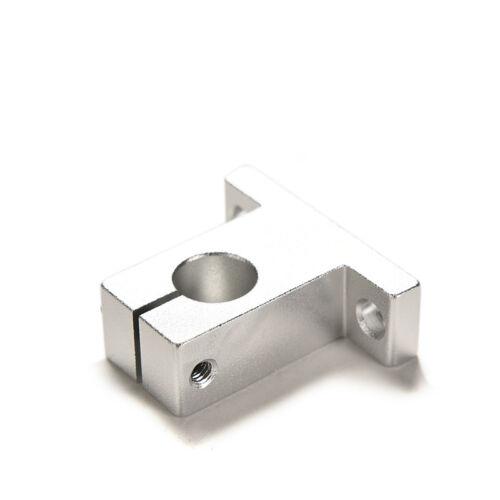 2Pcs SK12 12mm Bearing CNC Aluminum Linear Rail Shaft Guide Support Economic XS
