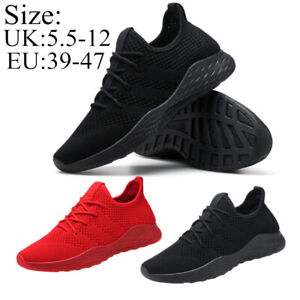 MENS-SHOCK-ABSORBING-RUNNING-TRAINERS-CASUAL-LACE-GYM-WALKING-SPORTS-SHOES-SIZE