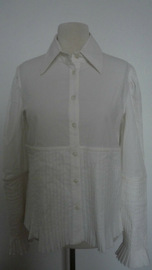 CHEMISE biancaHE FERRE PLISSEE Dimensione L L L a42ee9