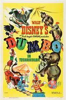 Walt Disney Dumbo Movie Poster Replica 13x19 Photo Print