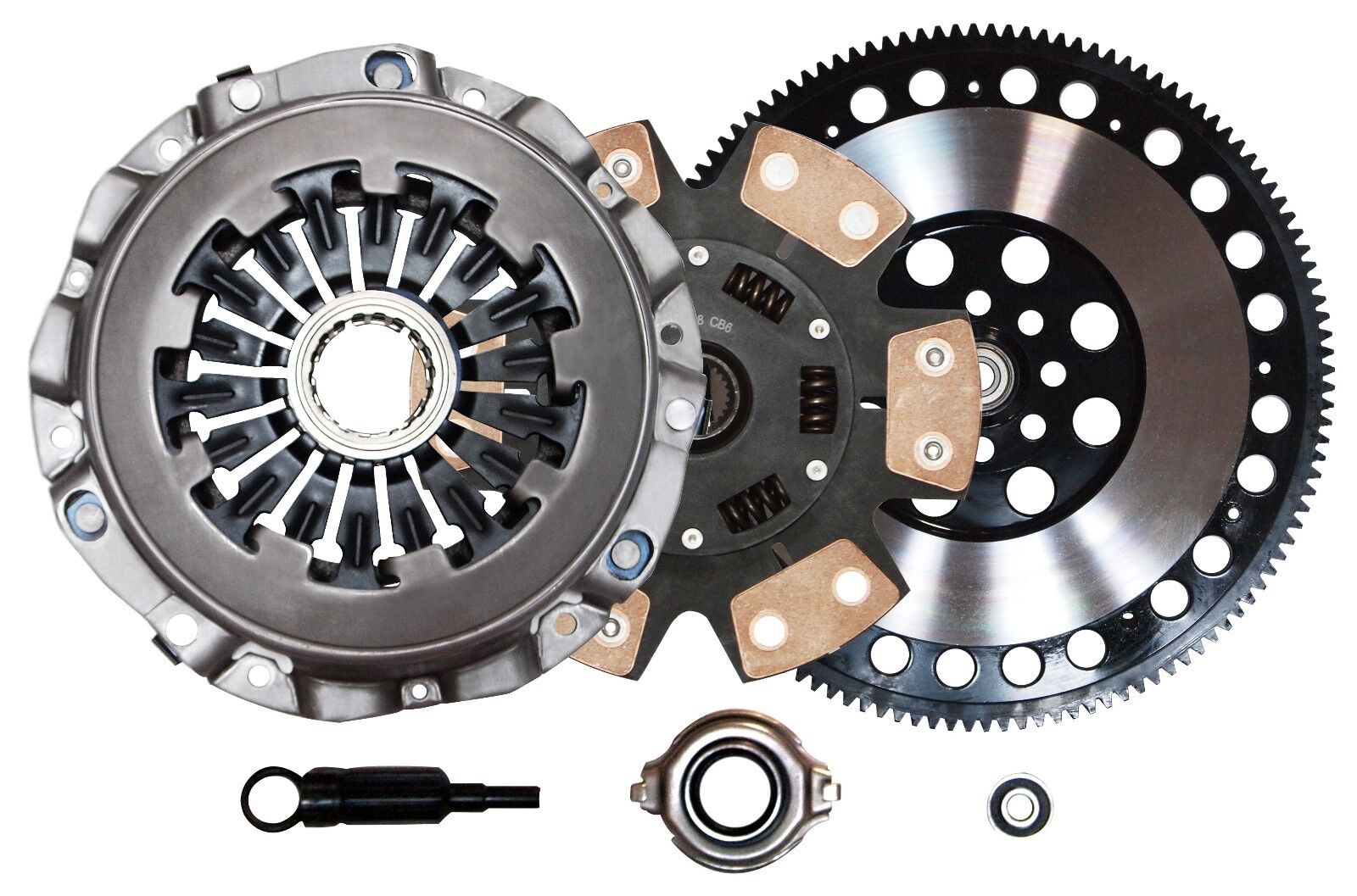 QSC Stage 3 Clutch Kit Chromoly Flywheel for Subaru WRX 02-05 EJ20 EJ20T EJ205 | eBay