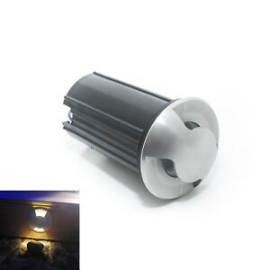 Segnapasso-radente-led-3w-doppia-emissione-faretto-tondo-incasso-terreno-IP65