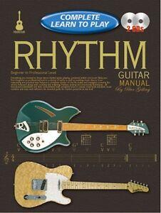 Impartial Complet Apprendre à Jouer Rhythm Guitar Manuel + Cd-afficher Le Titre D'origine RafraîChissement