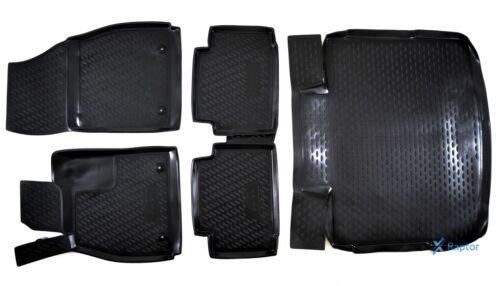 Kofferraumwanne Opel Insignia 4//5 Tür 08-16 Exklusiv 3D 5-tlg SET Gummimatten