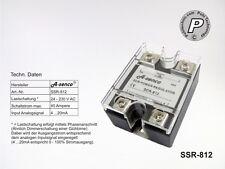 SSR-812 Leistungssteller,Phasenanschnitt,Thyristorsteller 230V 40A,Ansteu.4-20mA