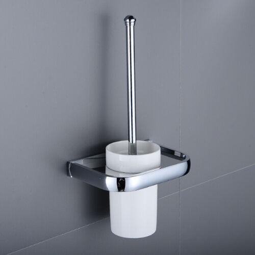 Polished Chrome Bathroom Hardware Set Bath Accessories Towel Bar Ring Holder