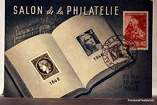CPA MAXIMUM  POSTCARD MUSÉE POSTAL  SALON DE LA PHILATELIE 1946  Yy 753
