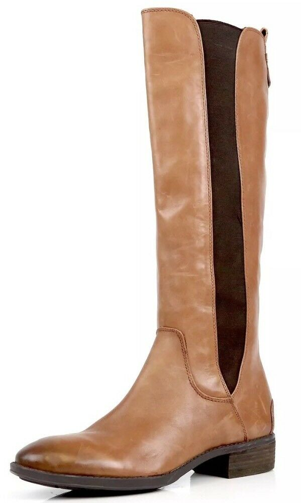 Sam Edelman Paradox Pelle Boot Brown Donna Sz 9 M 5794 *