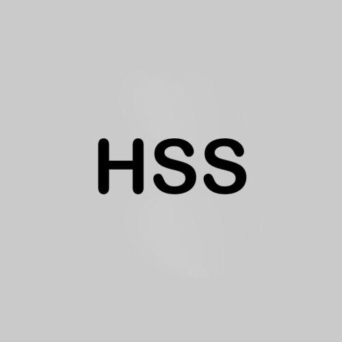 NEU Handreibahle Reibahle Ø 4 mm H7 Qualität HSS DIN 206-B EU Produktion