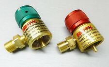 SMITH REGULATORS FOR LITTLE TORCH PRESET REGULATOR FOR DISPOSABLE TANKS SET OF 2