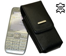 Nokia E52 Vertikal Tasche Handytasche Hülle Ledertasche