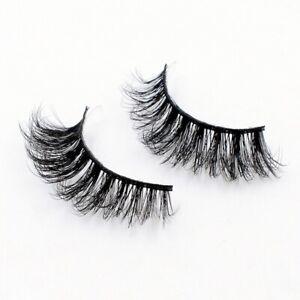 100-3D-Mink-Eyelashes-Handmade-Reusable-Natural-Eyelashes-10Pairs-False-Lashes