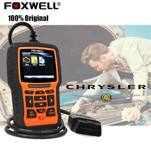 For Chrysler OBD2 EOBD ABS SRS Engine Oil EPB 16 Pin Code Reader Diagnosic Tool