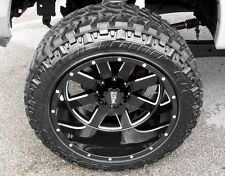 4 NEW Moto Metal 962 20x12 Gloss Black Wheels 6x5.5 Chevy GMC 1500