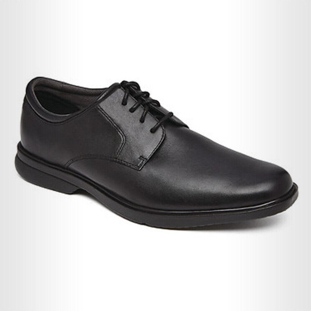 Black Leather Dress Shoes Men