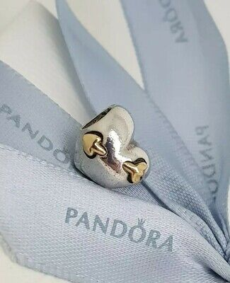 Charms & Charm Bracelets Authentic Pandora Silver 14k Gold 'love Struck' Heart Arrow Charm 791171 Retired Fashion Jewelry