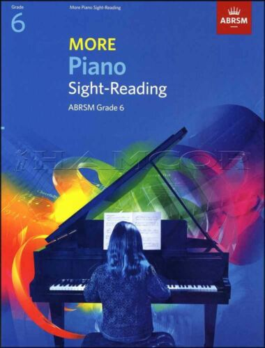 More Piano Sight-Reading ABRSM Grade 6 Sheet Music Book SAME DAY DISPATCH