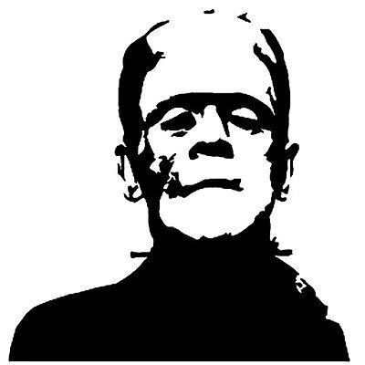 Frankenstein Vinyl Decal Mary Shelly Boris Karloff Horror Classic Movie Monster