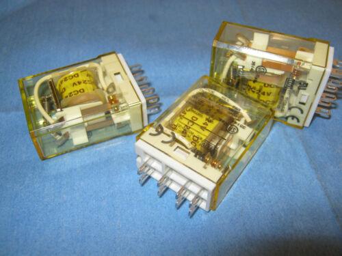 No Box /< Unused Old Stock Qty Lot of IDEC Model: RY2S-U Relays 3 DC 24V