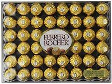 Ferrero Rocher 48 Count Best Chocolate Candy Gift Box Hazelnut