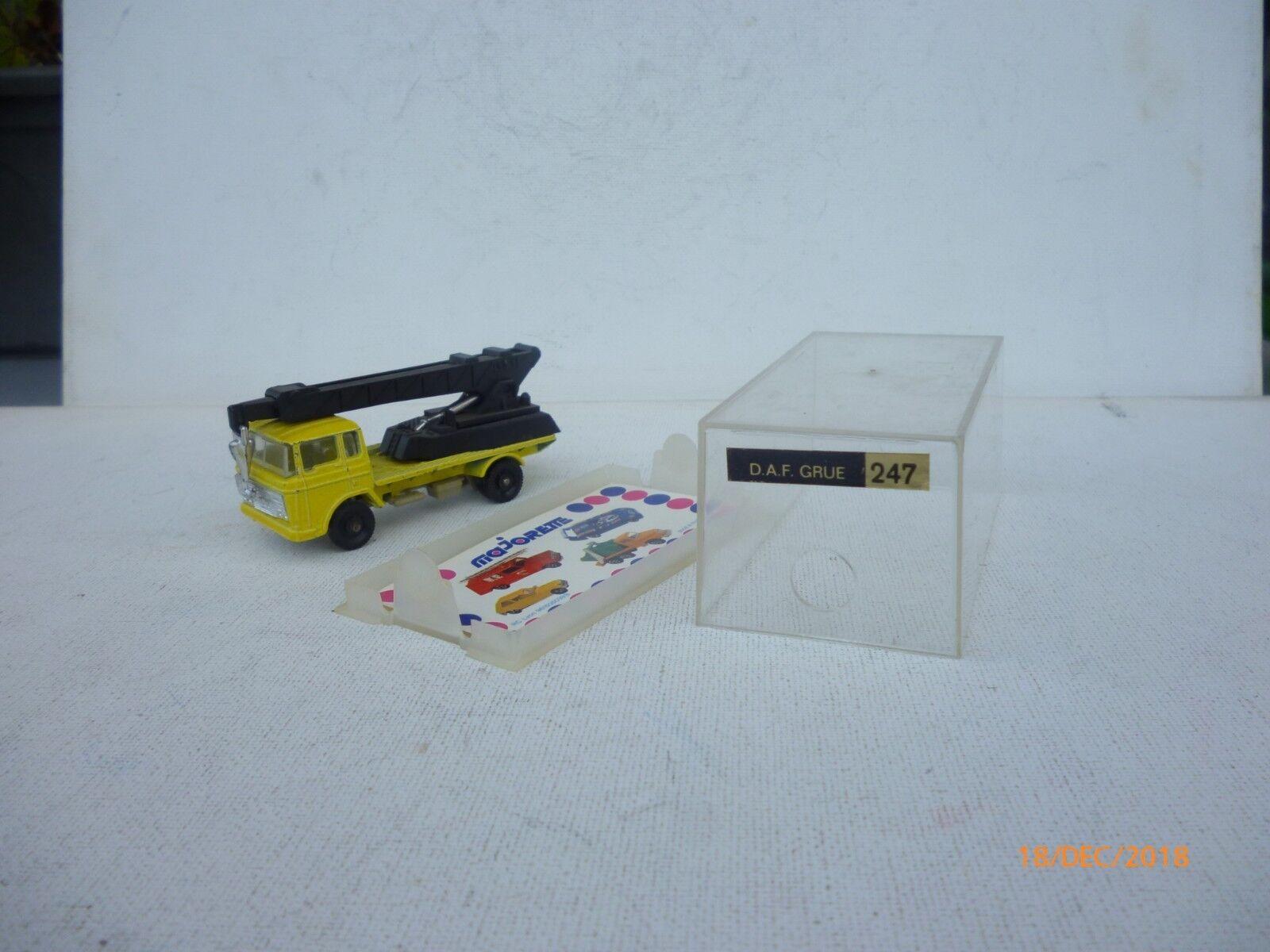 MAJORETTE     FRANCE   246 DAF GRUE 1 100  NEAR MINT IN BOX 78045e