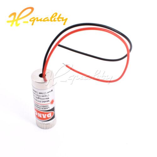 5mW Red Dot Adjustable Laser Module 650NM Focus Stripe Lens Laser Head