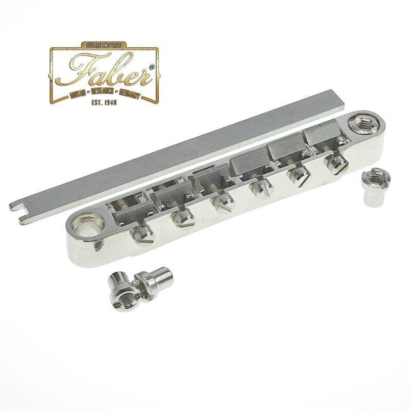 Faber ABR-L-59-TG ABRL59TG Locking Bridge Titanium Saddles Gloss Finish 3031-6