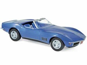 CHEVROLET Corvette - 1969 - bluemetallic - Norev 1:18
