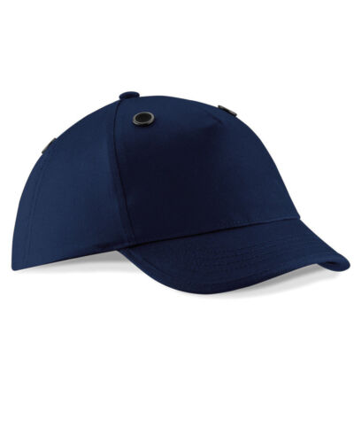 Beechfield Unisex Bump Cap-Safety//Protection Hat-Adults Headwear-Cotton