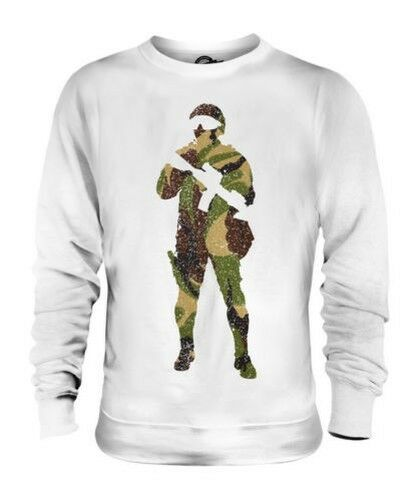 BRITISH CAMO SOLDIER UNISEX SWEATER TOP GIFT ARMY