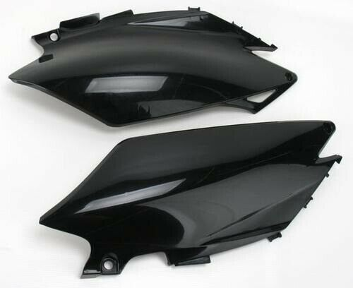 UFO Plastics Black Side Panels for Honda CRF230F 2006-2009