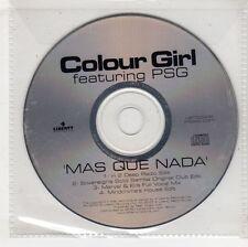 (GW567) Colour Girl Feat. PSG, Mas Que Nada - 2000 DJ CD