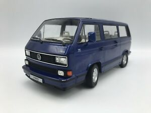 VW-T3-Multivan-Limited-Last-Edition-1992-blau-1-18-KK-Scale-gt-gt-NEW-lt-lt