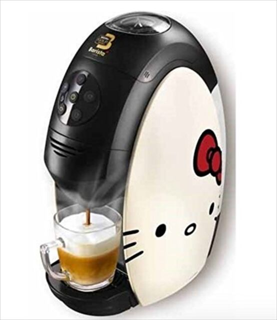 Nescafe Gold Blend Barista Hello Kitty Limited Model Coffee Maker Japan EMS NEW