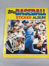 1981 Topps Baseball Stickers Album Unused NOS George Brett Kansas City Royals