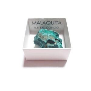 Piedra-Malaquita-Natural-en-Bruto-Congo-En-Cajita-De-coleccion-4x4-cm