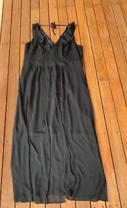 City-Chic-Black-Formal-Dress-Maxi-Sleeveless-V-Neck-Party-Plus-Size-L-20
