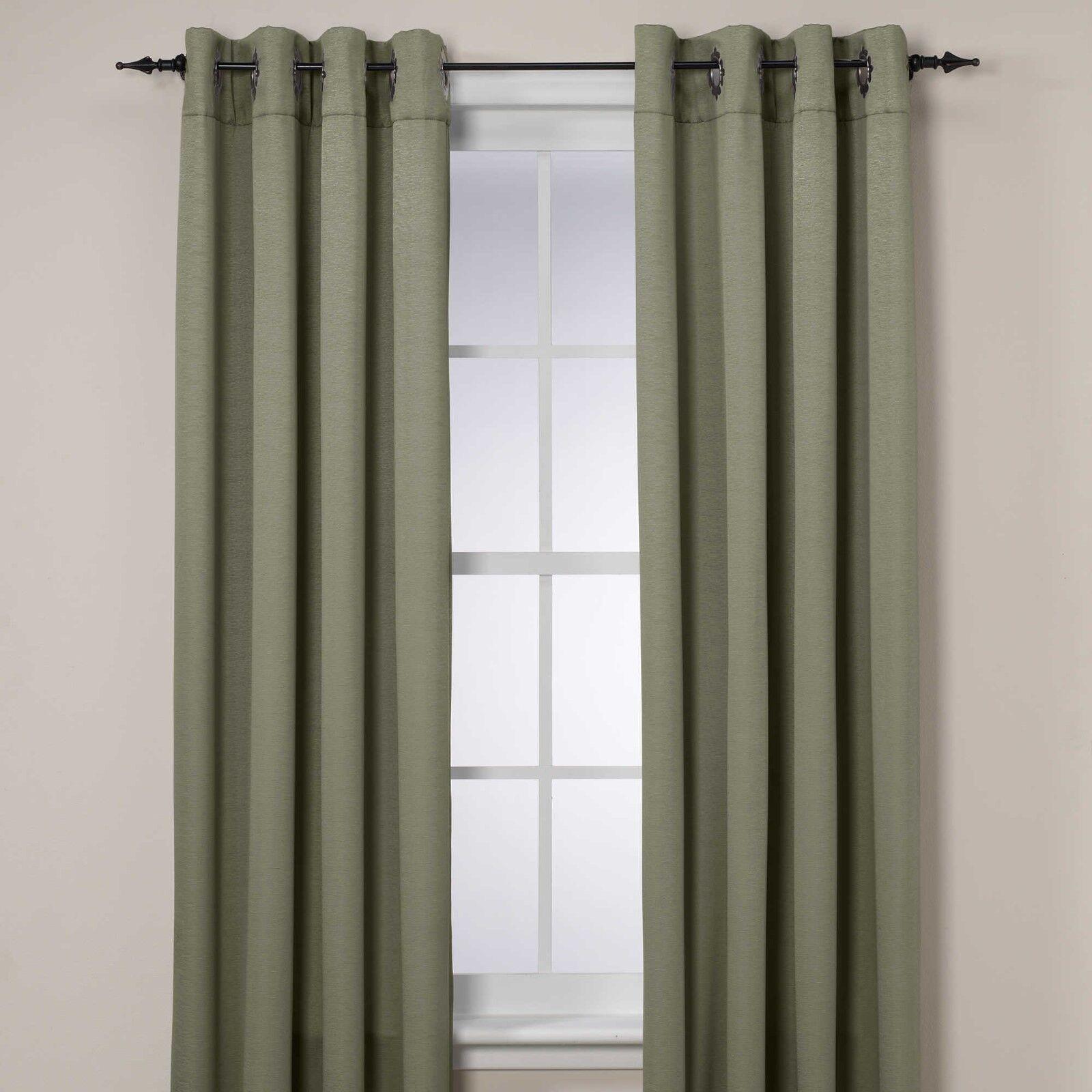Insola Odyssey Odyssey Odyssey 108-Inch Insulating Window Curtain Panel in Seagrass 34a80b