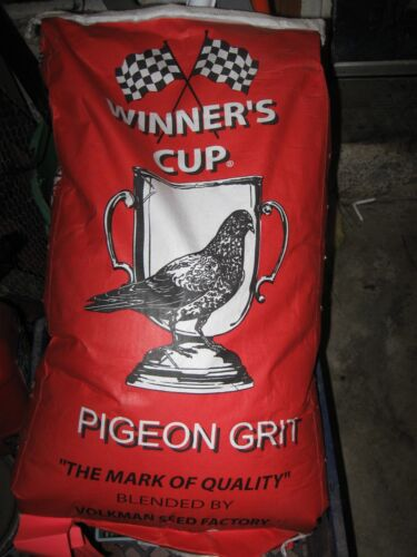 20 lbs Winner's Cup Racing Red Pigeon Poultry Chicken Fowl Bird Grit Priority