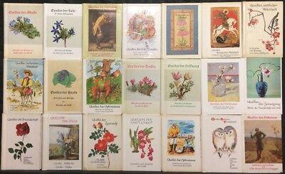 30 Quellen BÄndchen Sammlung Paket Leobuchhandlung St Gedanken Uva Gallen